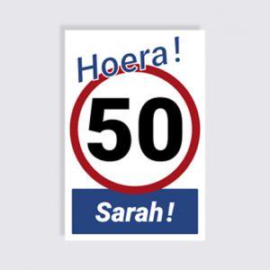 Verjaardag 50 - Sarah