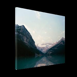 Foto auf Echtglas
