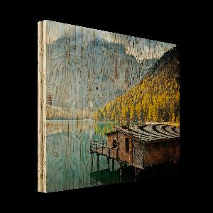 Foto auf Holz - Birkenholz
