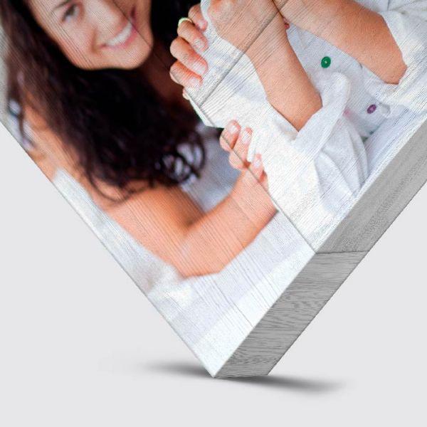 Foto auf Holz - Whitewash