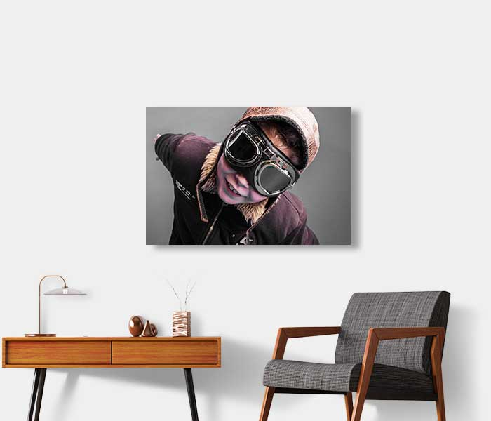 Foto op aluminium - Fine art